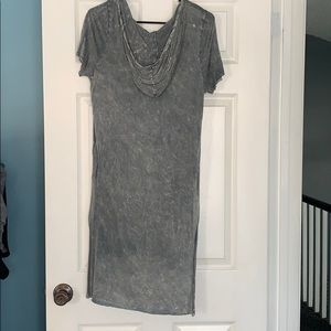 NWT Long Gray Tshirt